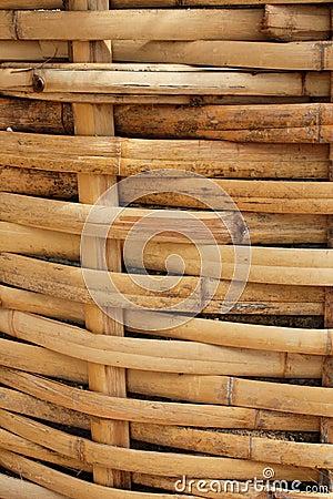 Bamboo Basket, Bamboo weave pattern