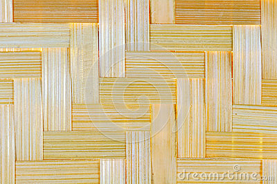Bamboo basketwork background