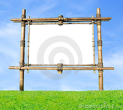 Free Bamboo Billboard Stock Photo - 1206170