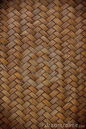 Bamboo craft pattern texture