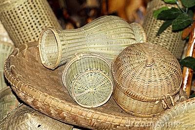 Bamboo home items