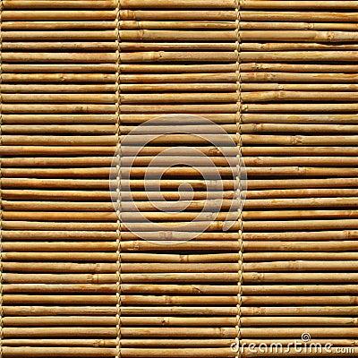 Bamboo jalousie