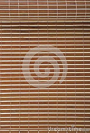 Bamboo mat textured