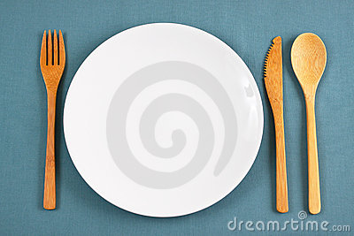 Bamboo place setting