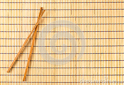 Bamboo placemat traditional