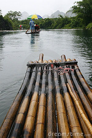 Bamboo Raft Excursion Along Li River