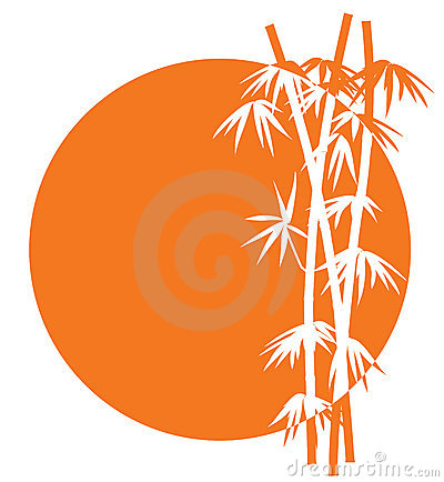 Free Bamboo Sunset Icon Stock Photos - 7338653