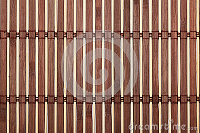 Bamboo tablecloth texture