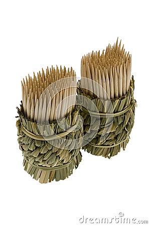 Bamboo toothpicks