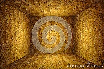 Bamboo weave room
