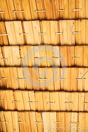 Bamboo weave screen
