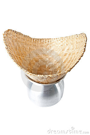 Bamboo weave sticky rice streamer