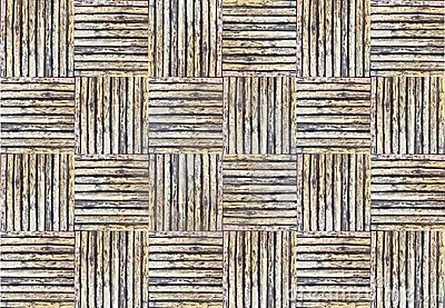 Bamboo weave texture for background