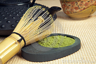 Bamboo whisk for green tea