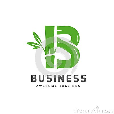 Free Bamboo With Initial Letter B Logo Royalty Free Stock Images - 144873949