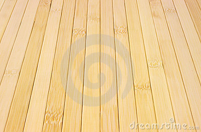 Bamboo wood strips