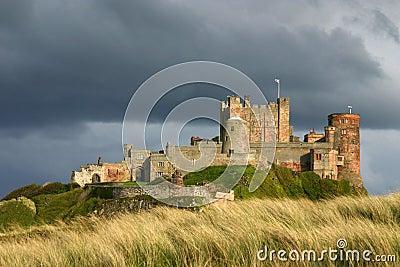 Bamburgh Castle.