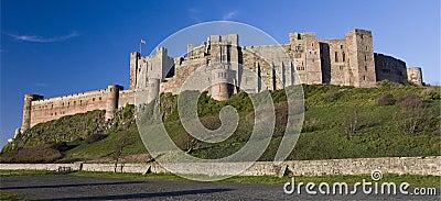 Bamburgh Castle - Northumberland - England
