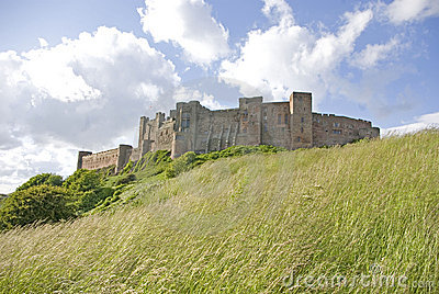 Bamburgh Castle from the South
