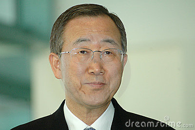 Ban Ki Moon Editorial Image