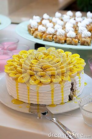 Free Banana Cake Stock Image - 26888371