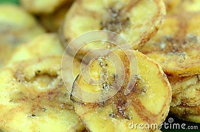 Banana chips.