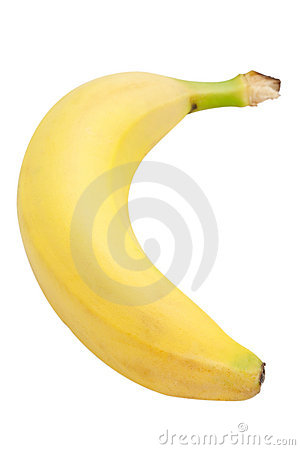 Banana (with clipping path)