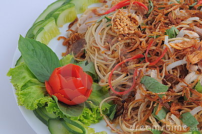 Banana Flower Bud Salad
