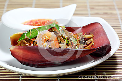 Banana Flower Salad