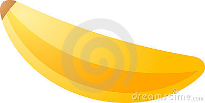 Banana fruit icon