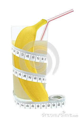 Banana juice and meter