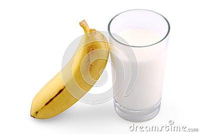 Banana and milk
