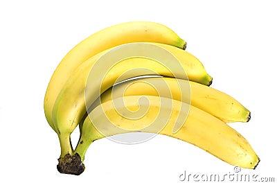 Banana śniadanio-lunch