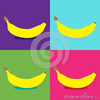 Banana pop art