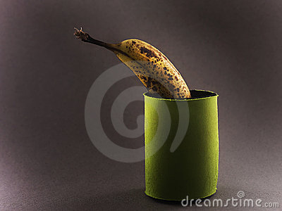 Banana in pouch