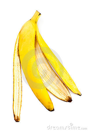 Free Banana Skin Royalty Free Stock Photos - 13063678