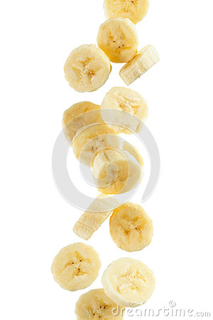Free Banana Slices Stock Images - 30626634