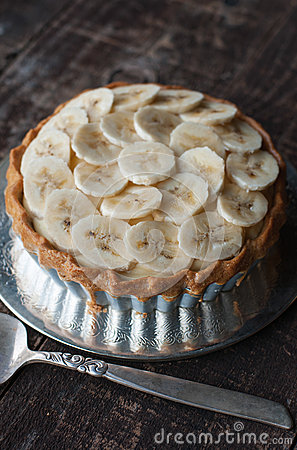 Free Banana Tart Stock Photo - 38755060