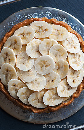 Free Banana Tart Stock Images - 38755064