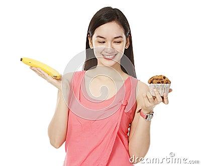 Banana Versus Muffin