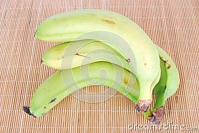Bananas bunch organic
