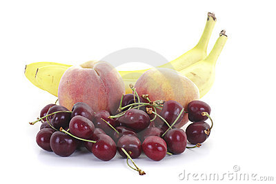 Bananas Peaches and Cherries