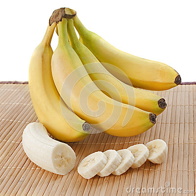 Bananas slices