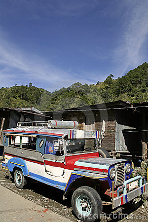 Banaue jeepney philipines public transport