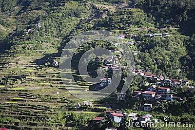Banaue mountain town luzon philippines
