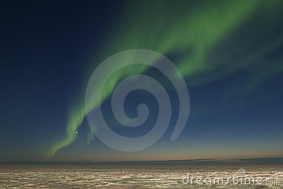 Band of nortern lights