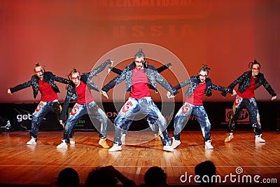 Banda force group dance Editorial Photography
