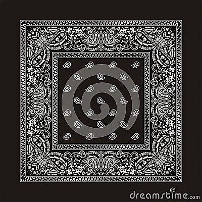 Free Bandana-2 (black) Royalty Free Stock Images - 10886039