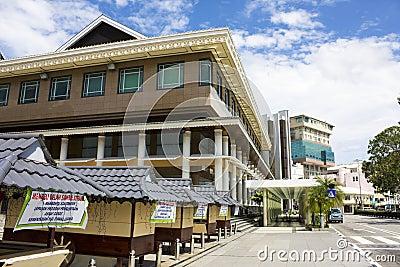 Bandar Seri Begawan Street Scene, Brunei