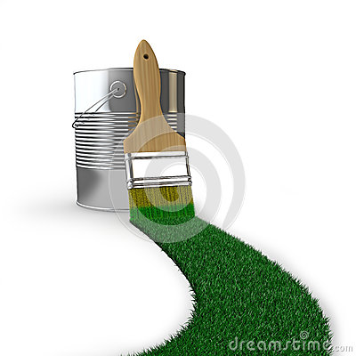 bande d 39 herbe photo libre de droits image 38020565. Black Bedroom Furniture Sets. Home Design Ideas